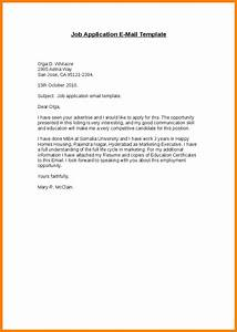 job application email template beepmunk With email to apply for a job
