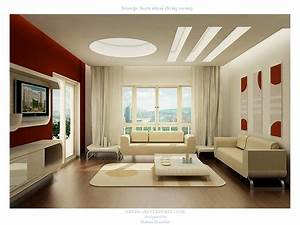 28 red and white living rooms for Design for living room