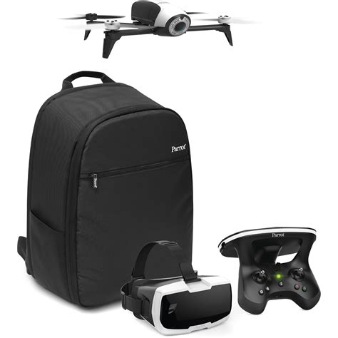 parrot bebop  adventurer bundle white pfaa bh photo