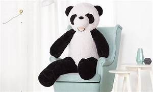 Peluche Géante Panda : peluche g ante panda groupon shopping ~ Teatrodelosmanantiales.com Idées de Décoration