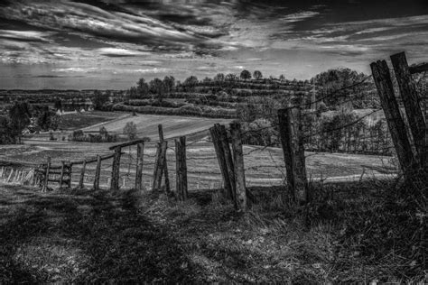 images rock fence barbed wire post black