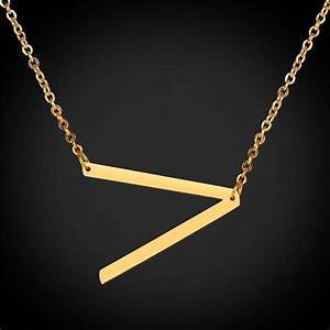 44 best 26 alphabet letter necklace images on pinterest With letter choker necklace
