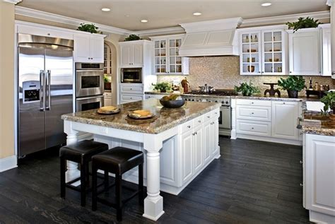 design custom american solid wood kitchen