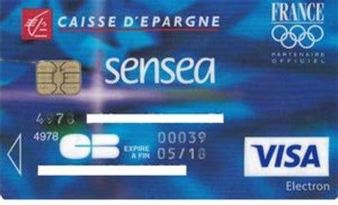 cartes bancaires caisse d epargne sensea caisse d epargne col fr vi 0049