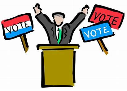 Clip Clipart Campaign Cliparts President Election Library