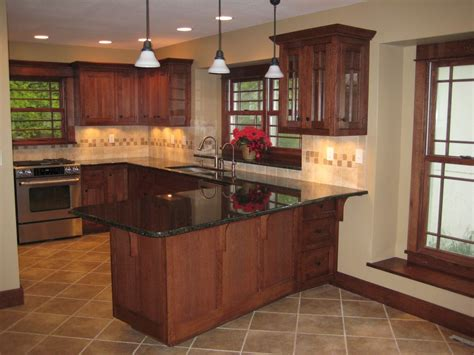 island for a kitchen complete arts and crafts quartersawn white oak kitchen 4812
