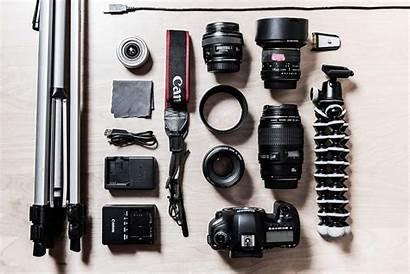 Camera Gear Photographer Equipment Zoom Picjumbo Negotiate