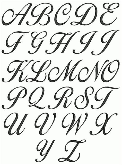 cursive letters az 2 cursive letters a through z sle letter template 10336