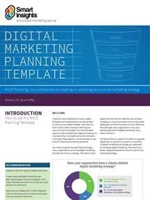 digital marketing plan examples   ms word