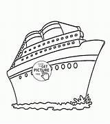 Cruise Ship Coloring Drawing Printable Wuppsy Transportation Template Printables Disney Templates Ships Sketch Titanic Boys Getdrawings Sheet Ninjago Tags Cutouts sketch template