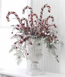 candy cane centerpiece for christmas christmas pinterest