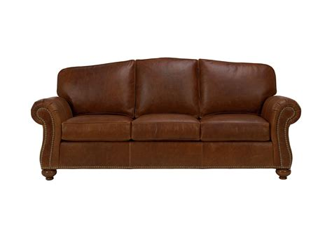 Leather Sofa Loveseat by Leather Sofa Sofas Loveseats Ethan Allen
