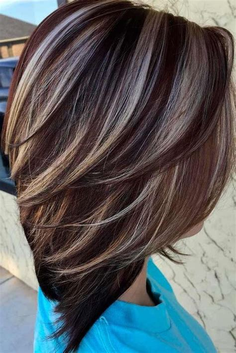 1001 ideas for brown hair with highlights or