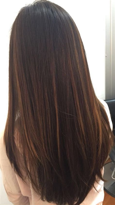 brazilian balayage  straight hair balyaage cabel