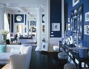 Greek Blue White Interiors Modern Designer Furniture