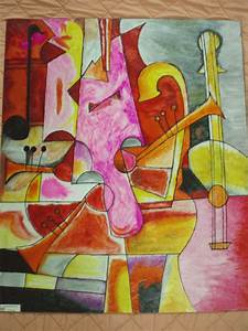 Abstract Painting-Love Of Music by ArtFreak-Hamza on ...