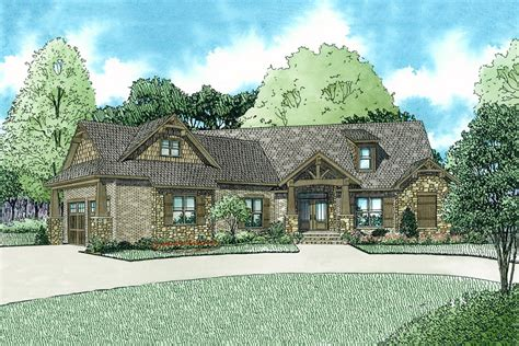 Craftsman Style House Plan 3 Beds 2 5 Baths 2199 Sq/Ft