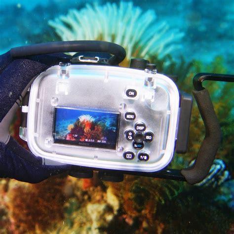 silicone sony a5100 a 5100 meikon hk meikon underwater housing waterproof