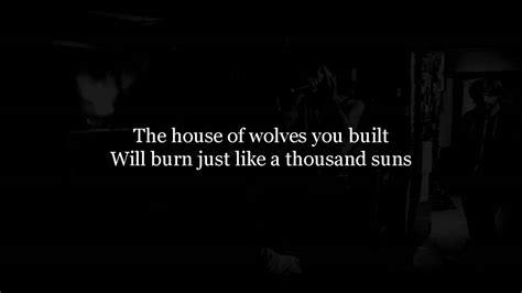 house of wolves lyrics bring me the horizon the house of wolves lyrics