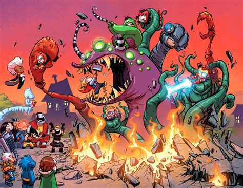 foto de First Look: GIANT SIZE LITTLE MARVEL: AVX #1 Comic Vine