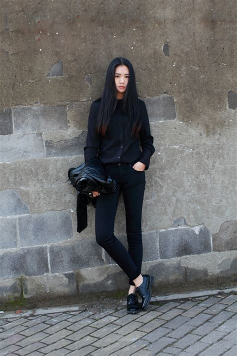 All Black Outfits Lilleblomst