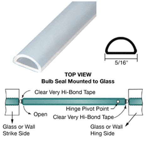 silicone bulb seal