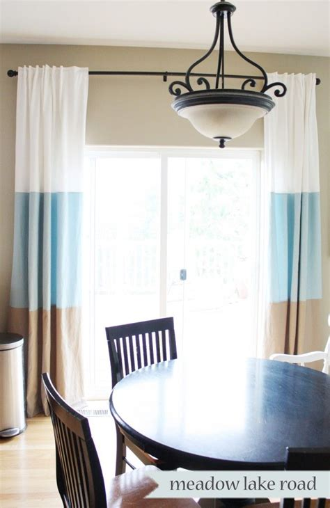color block curtains ideas  pinterest blue