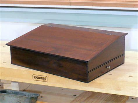 woodwork lap desk plans woodworking  plans