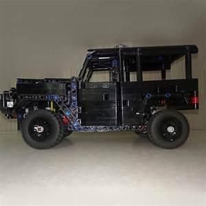 Lego Moc Toyota Land Cruiser Bj42  Fj40  By Fuwlz