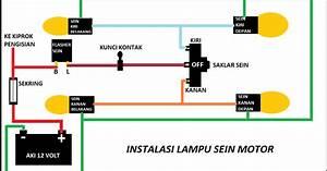 Diagram  Wiring Diagram Lampu Sein Motor Honda Full