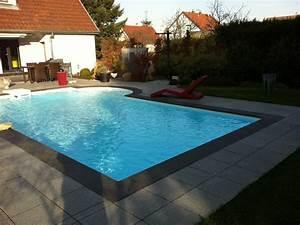 piscine grise photo piscine horsterre quantum grise With margelle piscine grise anthracite 2 margelle piscine grise margelle droite plate cm gris
