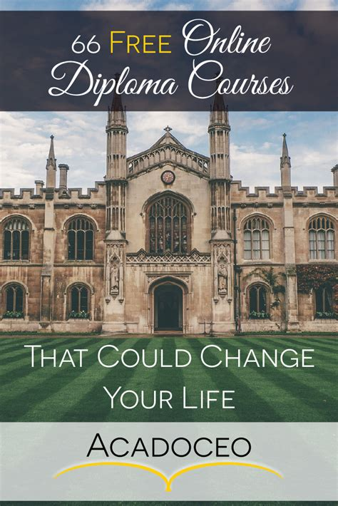 diploma courses free 66 free diploma courses that could change your