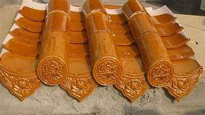 Color glazed ceramic roof tiles Drip Tile - SF004 - Shunfa