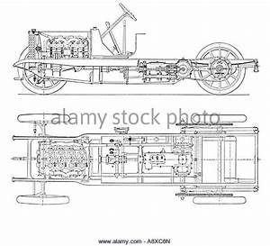 Four Cylinder Engine Stock Photos  U0026 Four Cylinder Engine