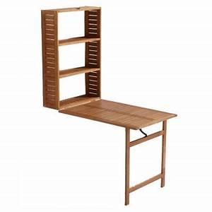 Table De Balcon Pliante : table balcon 2 en 1 en bois aland castorama ~ Melissatoandfro.com Idées de Décoration