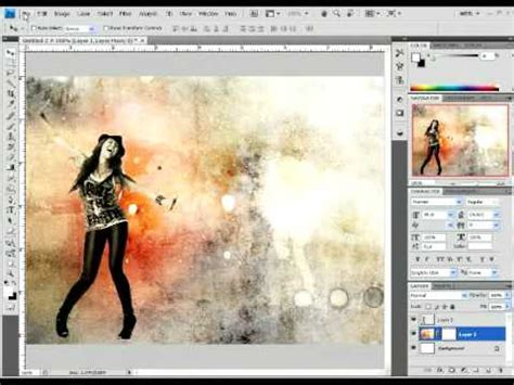 How To Create An Impressive Background In Photoshop Youtube