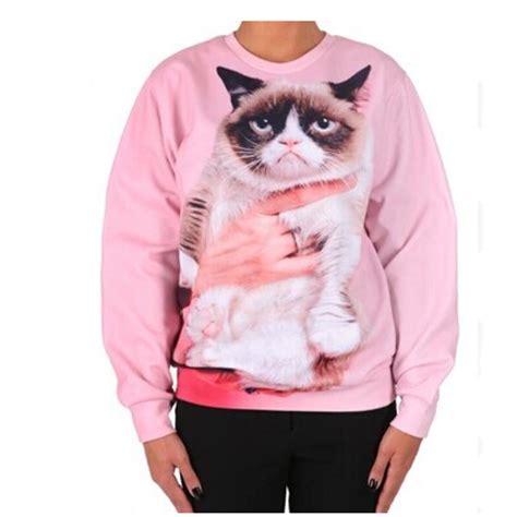 grumpy cat sweater japanese pink grumpy cat sweater