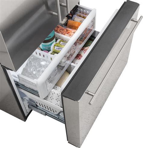 zwepshss monogram energy star  cu ft counter depth french door refrigerator