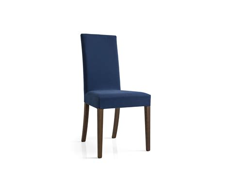dolcevita upholstered wooden chair with removable cover
