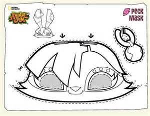 HD wallpapers animal face mask coloring pages