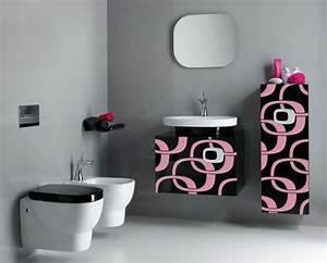 30 modern bathroom designs for teenage girls freshnist for Interior design pink bathrooms