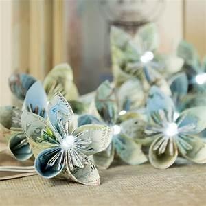 Guirlande Lumineuse Fleur : guirlande de fleurs en papier tutoriel ~ Teatrodelosmanantiales.com Idées de Décoration