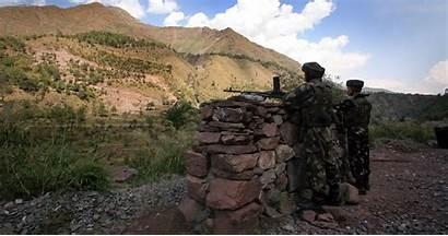 Pakistan Line Army Control Indian India Border