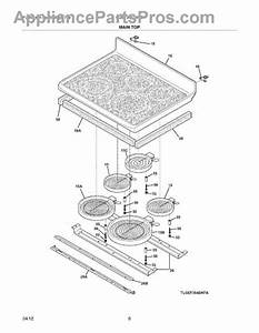 Parts For Thermador Ct227n  Control Panel Parts