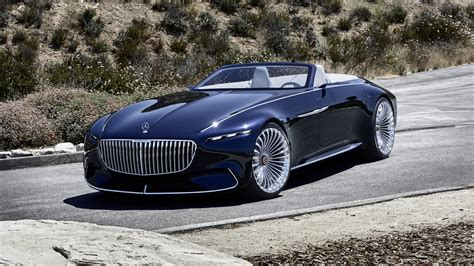 Maybach 6 Cabriolet At Monterey Car Week In