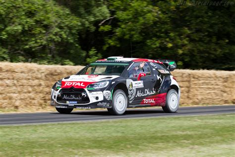 Citroën Ds3 Wrc  Entrant Citroën Uk  Driver Kris Meeke