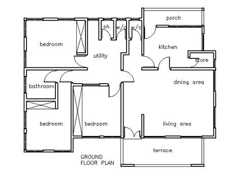 3 bedroom house blueprints house plans 3 bedroom house plan house plans homes plan