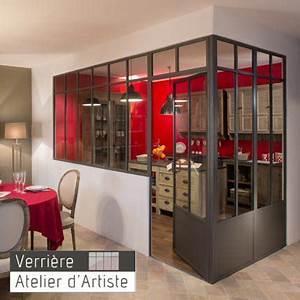 Verrière Atelier D Artiste : atelier d artiste lance les 1 res verri res d int rieur ~ Melissatoandfro.com Idées de Décoration