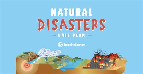 natural disasters safety poster task lesson plan teach