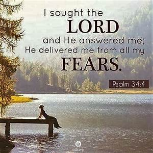 The Living... — Psalm 34:4 (NIV) - I sought the Lord, and ...